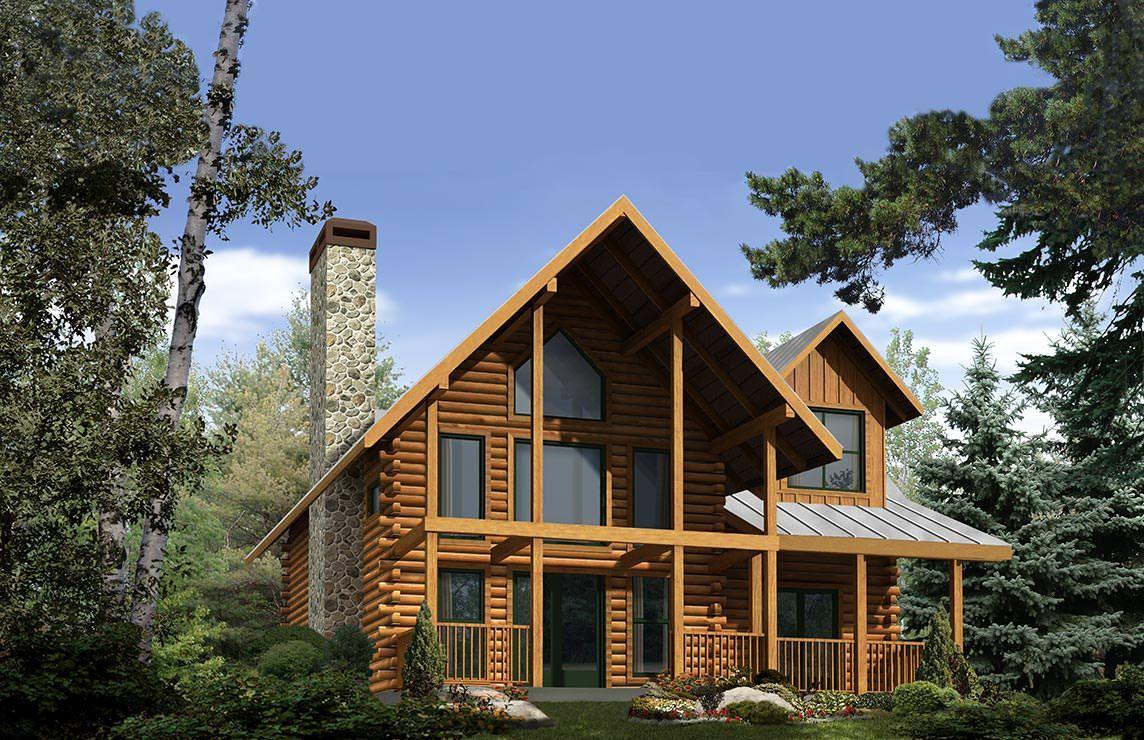 Satterwhite Log Homes Cartecay Crossing Floor Plan Cabins Log