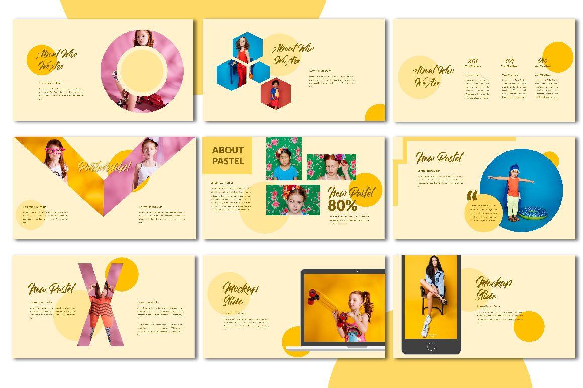 New Pastel Free Presentation Templates Pixelify Best Free Fonts Mockups Templates Presentation Template Free Presentation Templates Presentation Design