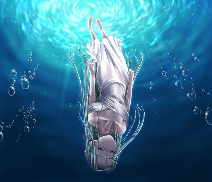 I Drowned In A Ocean Of Emptiness Anime Art Anime Manga Art
