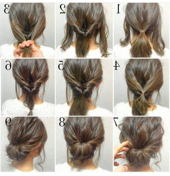 15 Ideas Of Easy Low Bun Updo Hairstyles Hair Styles Short Hair Styles Long Hair Styles