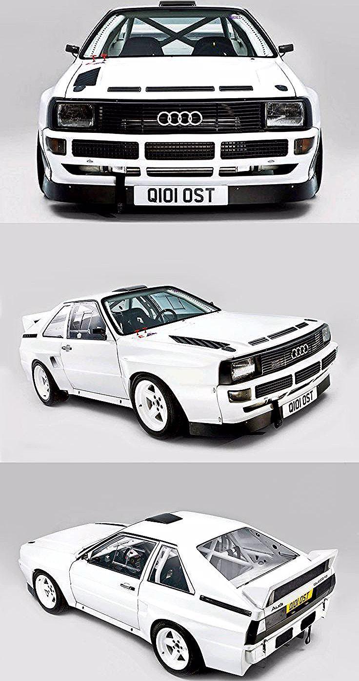 1985 Audi Sport Quattro S1 / Deutschland / weiß / 17-412 / Gruppe B -