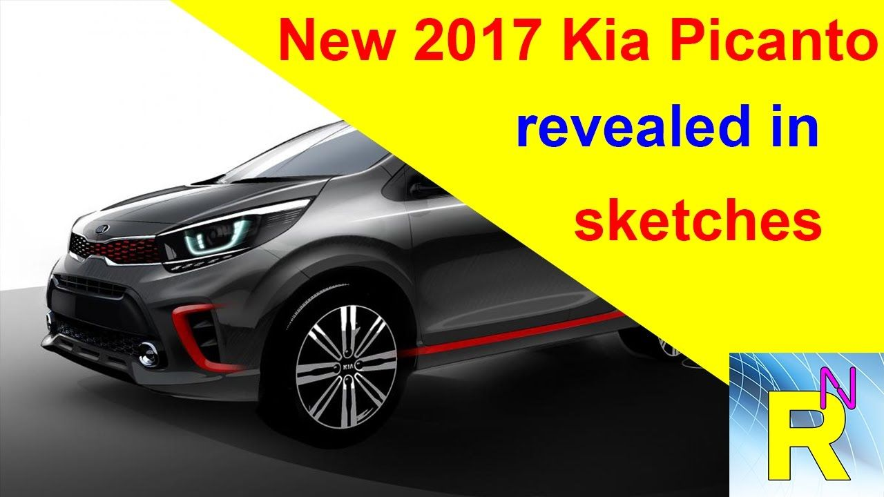 Car Review - New 2017 Kia Picanto Revealed In Sketches - Read Newspaper Tv
