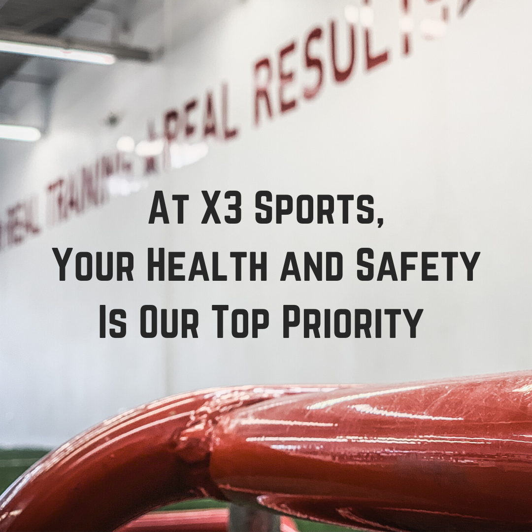 At X3 Sports, we believe it is in challenging times that