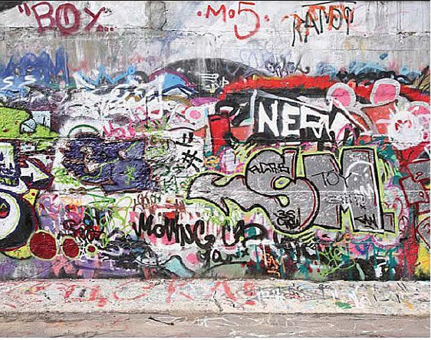 Graffiti Street Mural Art Wall Kids Graffiti Wall Graffiti