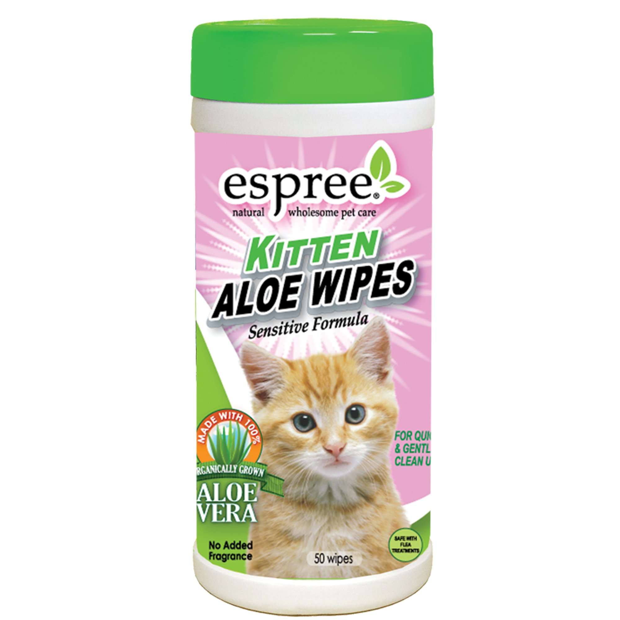 Espree Kitten Aloe Wipes 50 Count Petco In 2020 Kitten Petco Aloe