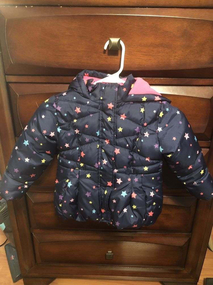 Okie Dokie 2t Heavyweight Star Puffer Jacket Fashion Clothing Shoes Accessories Babytoddlerclothing Girlscloth Girl Snowsuit Girl Outfits Zara Kids Girls