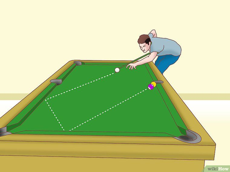 How To Rack A Pool Table 10 Steps With Pictures Wikihow >> Play Pool Like A Mathematician Billiard Play Pool Diy Pool