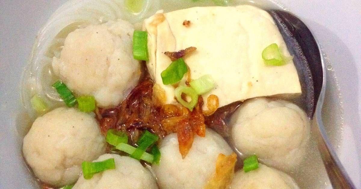 Resep Bakso Ikan Oleh Ibu Malka Resep Makanan Dan Minuman Resep Masakan Indonesia Resep Masakan Asia