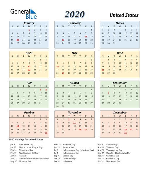 Free Printable 2020 Calendar In 2020 Calendar Template Calendar Printables 2021 Calendar