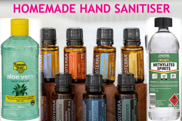 You Can Get Some Basic Items And Make A Homemade Hand Sanitiser
