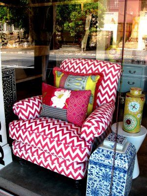 I am in love with this chair and pillow. I have a wing back chair I ...
