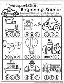 Image result for transport worksheets for kindergarten