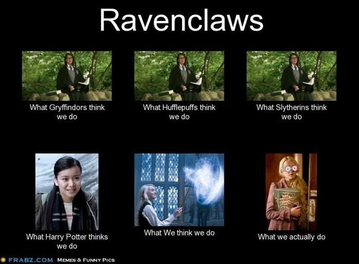Those Of Us Who Can Boast Repping The Colors Of Blue And Bronze Know The Joys And The Challenges Harry Potter Universal Harry Potter Funny Harry Potter Facts