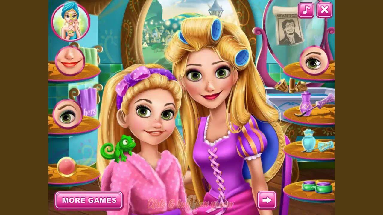 Disney Rapunzel Game Rapunzel Mommy Real Makeover Game