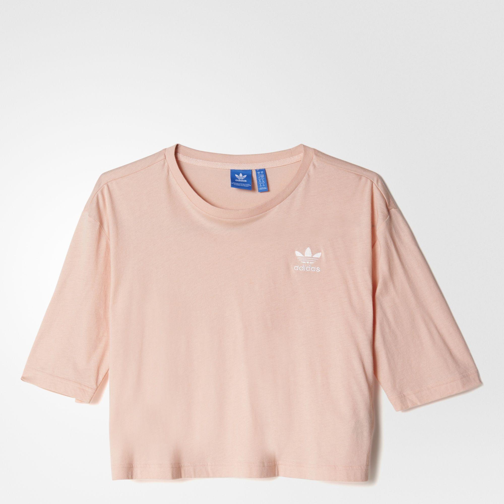 adidas Originals Pastel Camo Relaxed Fit T Shirt Women's