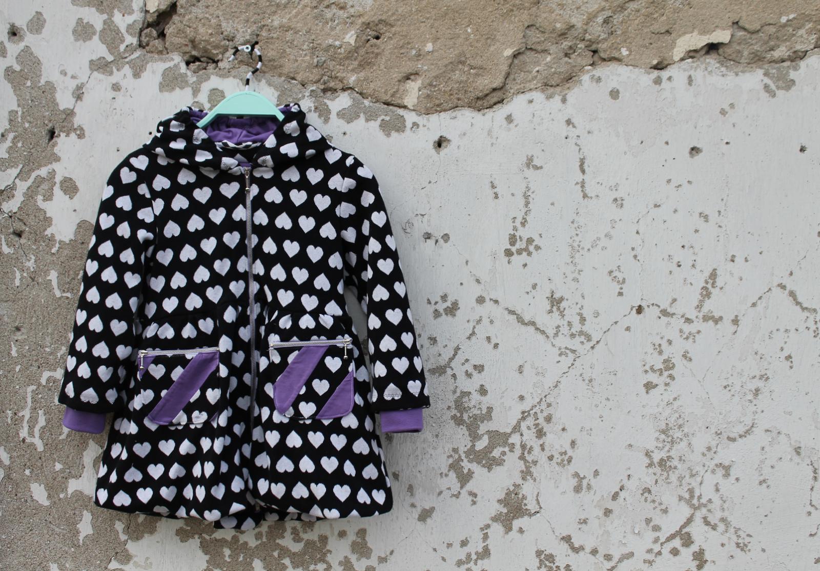 handmade girls jacket