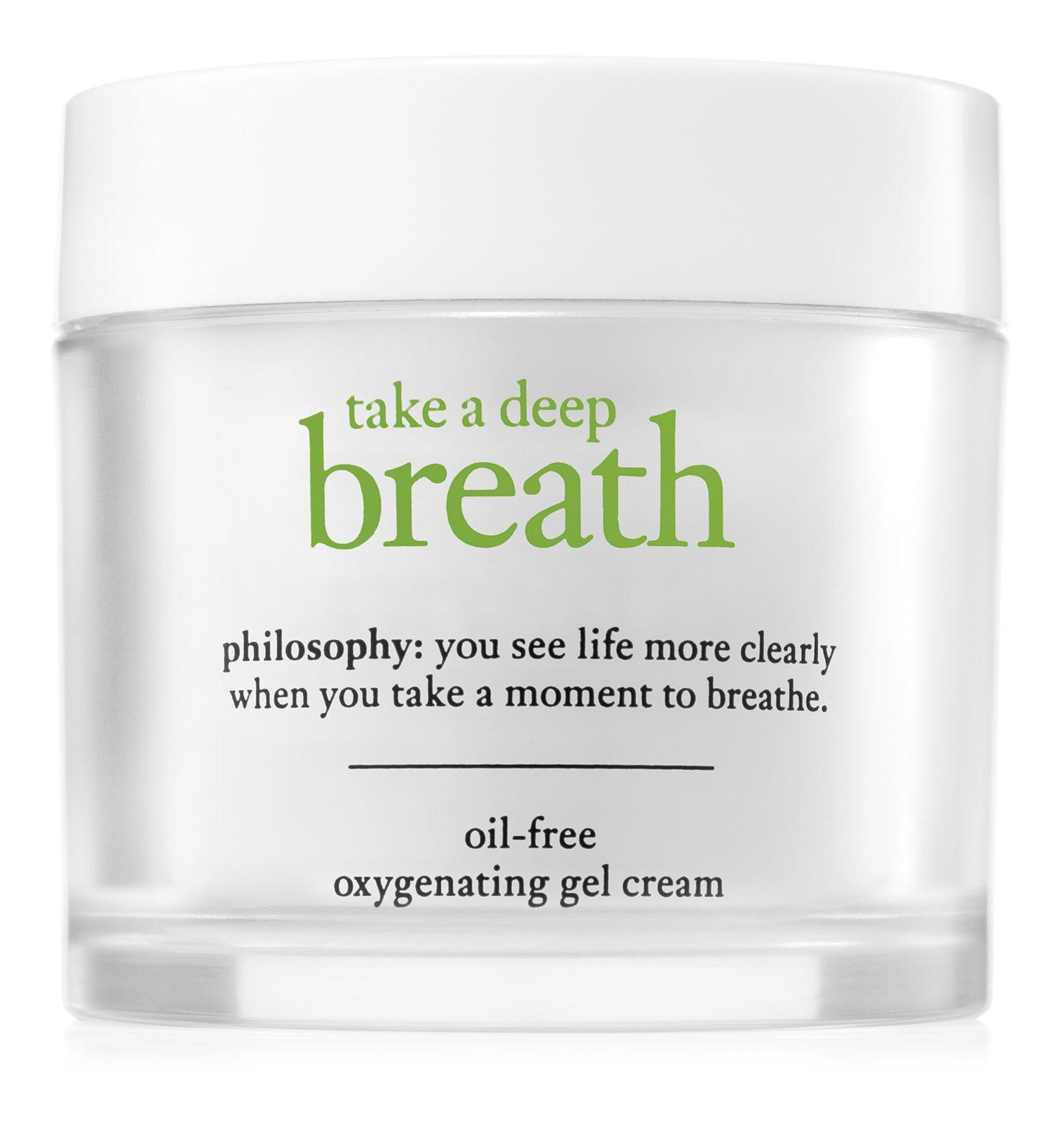 Philosophy Take A Deep Breath Gel Cream Cc Cream For Oily Skin Cleanser For Oily Skin