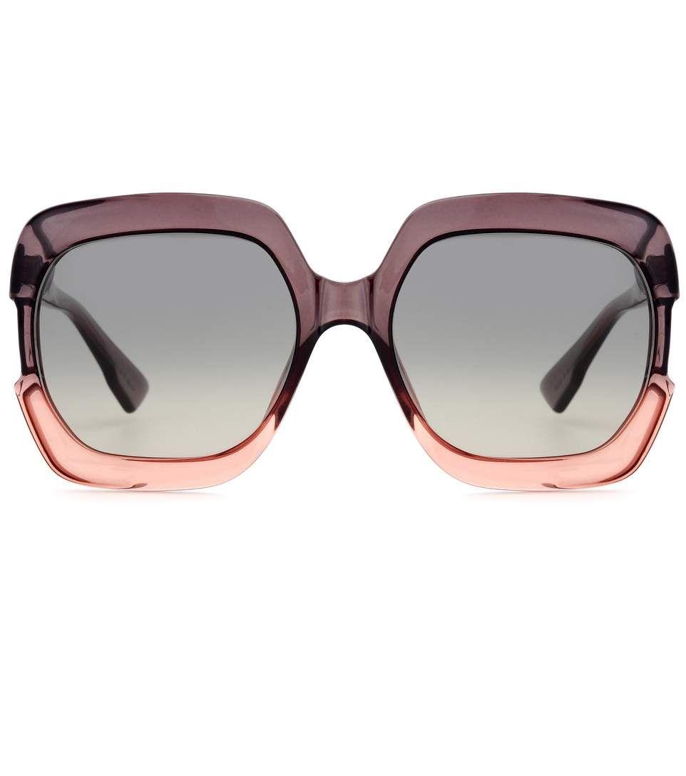dd5681f232025 DIOR Gaia oversized sunglasses.  dior   Óculos De Sol Dourados, Óculos  Gigantes,
