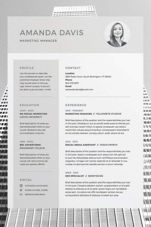 Indesign Lebenslauf Vorlage Schon 23 Average Adobe Indesign Resume Te Disenos De Curriculum Vitae Modelos De Curriculum Vitae Plantilla Curriculum Vitae Gratis