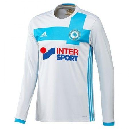 #Olympique De Marseille 16-17 Hjemmebanesæt Lange ærmer,245,14KR,shirtshopservice@gmail.com
