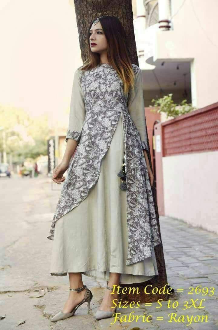 ccdef18312 Stylish kurtis dresses latest kurti printed patterns batik also jacket  jackets and blouses in pinterest rh