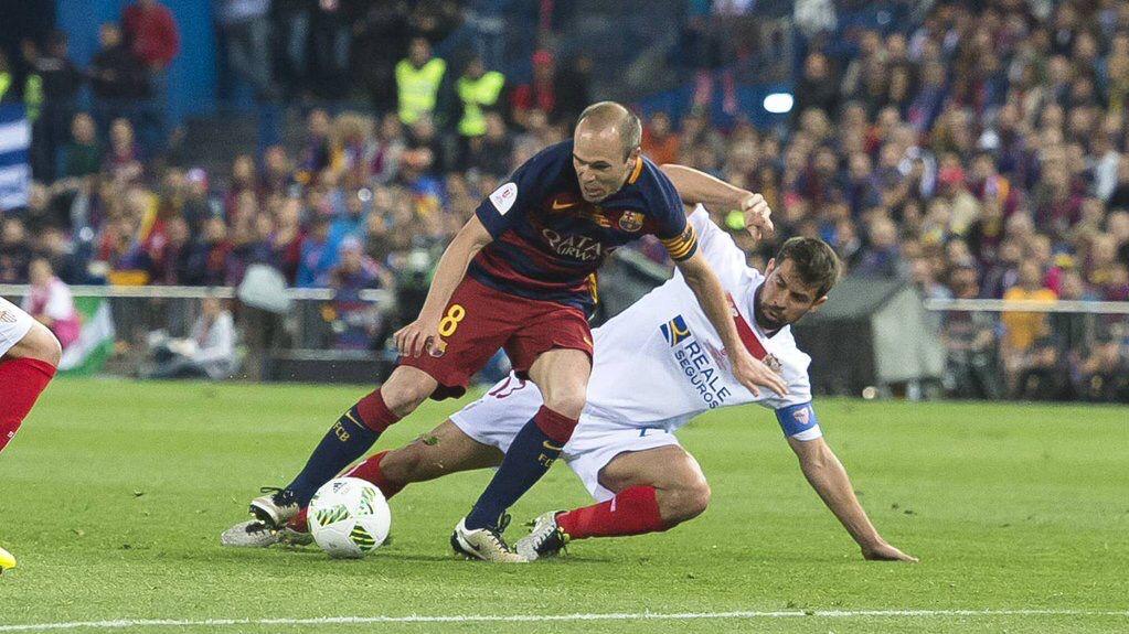 Le FC Barcelone a remporté dimanche soir la finale de la Coupe du Roi face au Séville FC (2-0 a.p.) grâce à des buts de Jordi Alba et Neymar en prolongation. Ce succès permet aux Catalans de réaliser le doublé Championnat-Coupe, comme la saison dernière.  Le match : 2-0 a.p.
