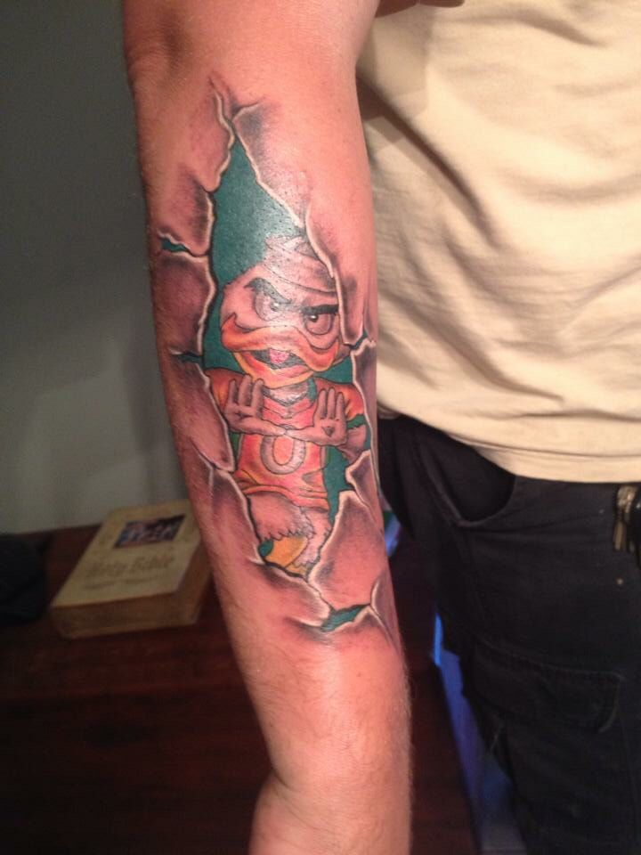 Miami Hurricanes Tattoo. I bleed Orange and Green!! All About The ...