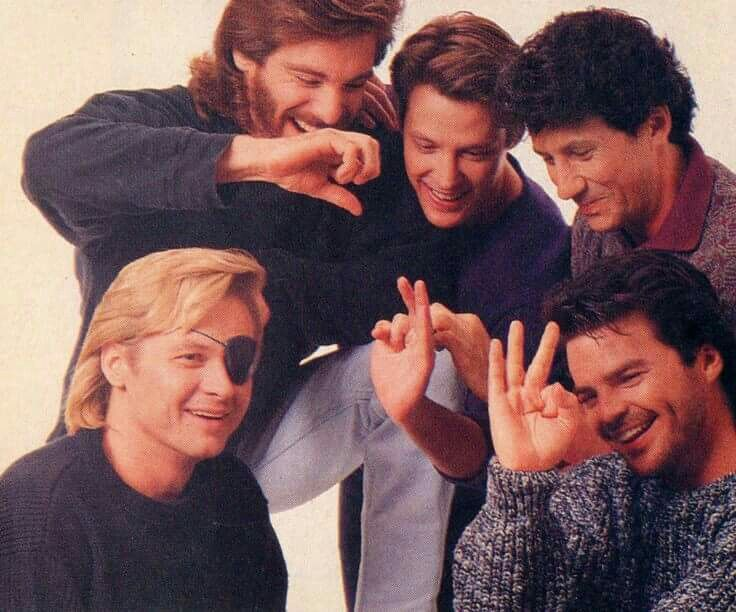 Michael Weiss Matthew Ashford Charles Shaughnessy Stephen Nichols Wally Kurth Days Of Our Lives Soap Opera Casting Pics