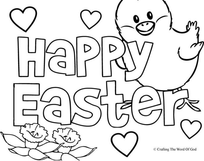 Happy Easter 2 Coloring Page Easter Coloring Pages Easter Coloring Pages Printable Easter Colouring