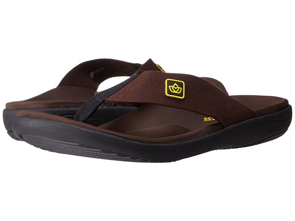 01462dbebe22 Spenco Pure Sandal (Chocolate) Men s Shoes