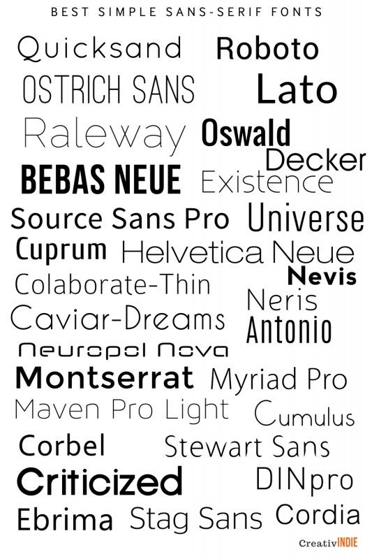 sans 533x800 300+ Fool Proof Fonts to use for your Book Cover - resume fonts to use