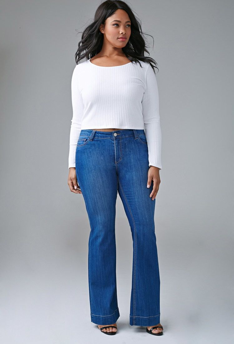 Classic Flared Jeans | Forever 21 PLUS - 2000172474