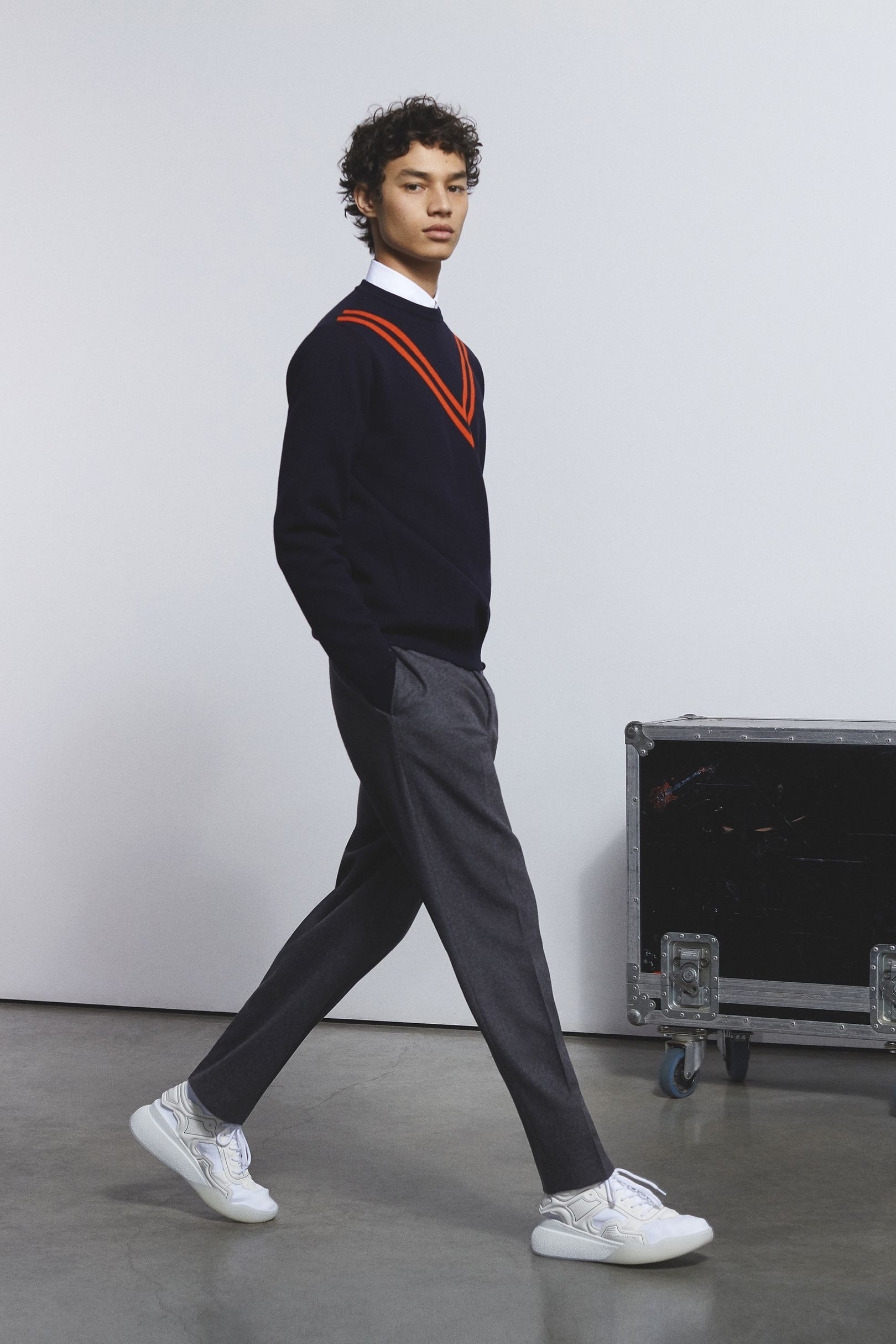 Stella mccartney autumnwinter menswear out fit inspo