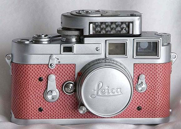 Vintage camera - 1953 Leica M3 w/ custom skin