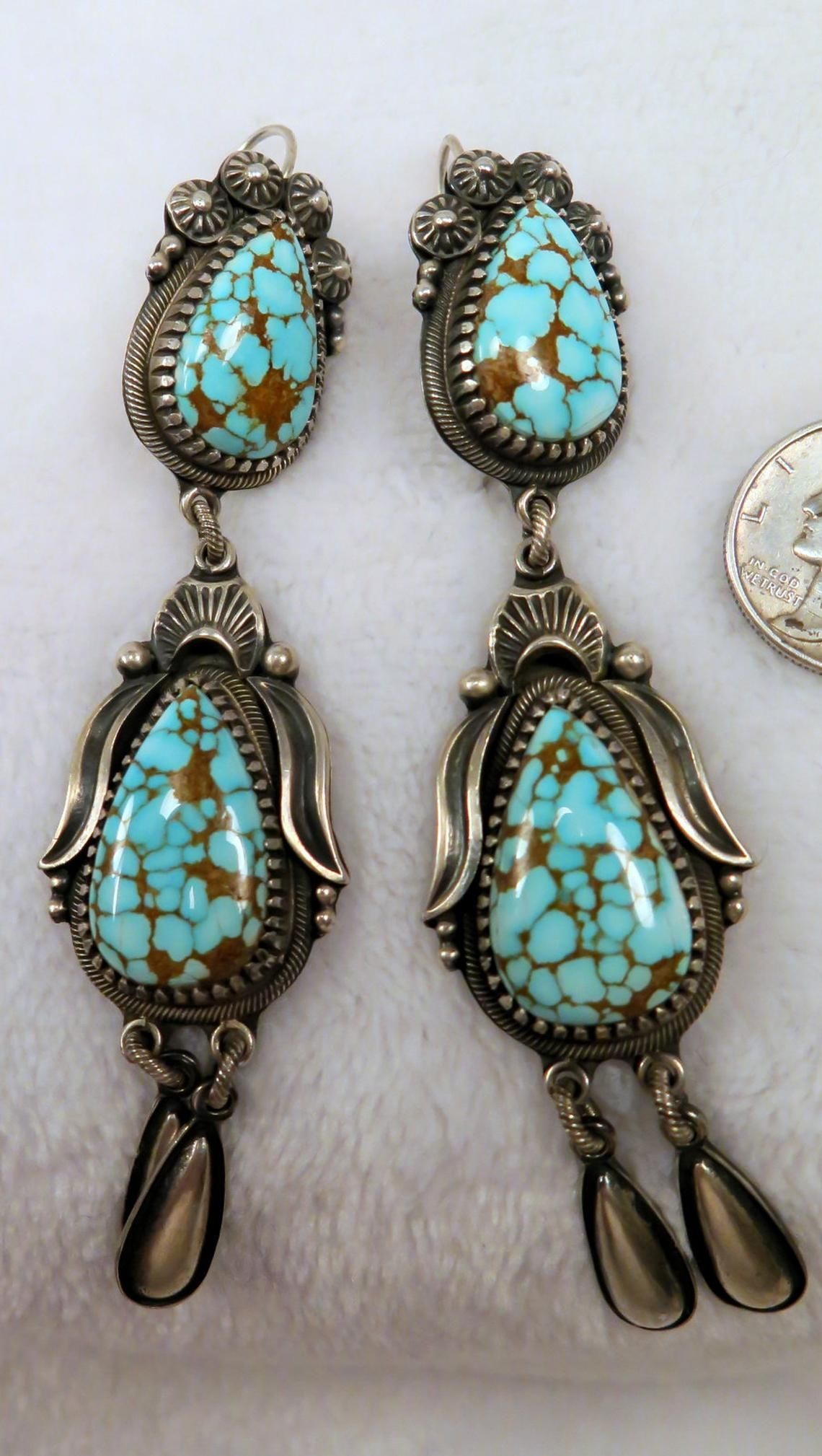 Delbert Gordon High Grade Number 8 Red Web Nevada Turquoise Etsy In 2021 Turquoise Wedding Jewelry Turquoise Stone Jewelry Turquoise Jewelry
