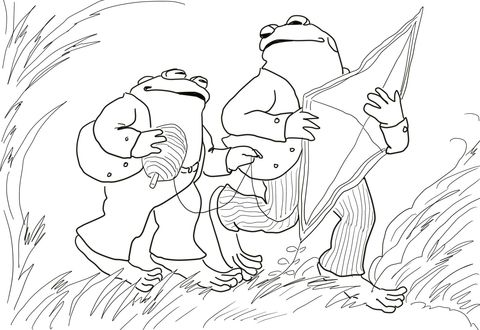 Days With Frog And Toad Coloring Page Free Printable Coloring Pages Frog And Toad Super Coloring Pages Coloring Pages