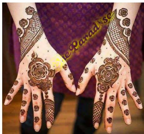 Mehndi Designs For Ladies 2015 - She Paradise http://www.sheparadise.com/2015/03/latest-mehndi-designs-2015.html