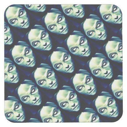 DOLOROUS devil Halloweenparty supplies Square Paper Coaster