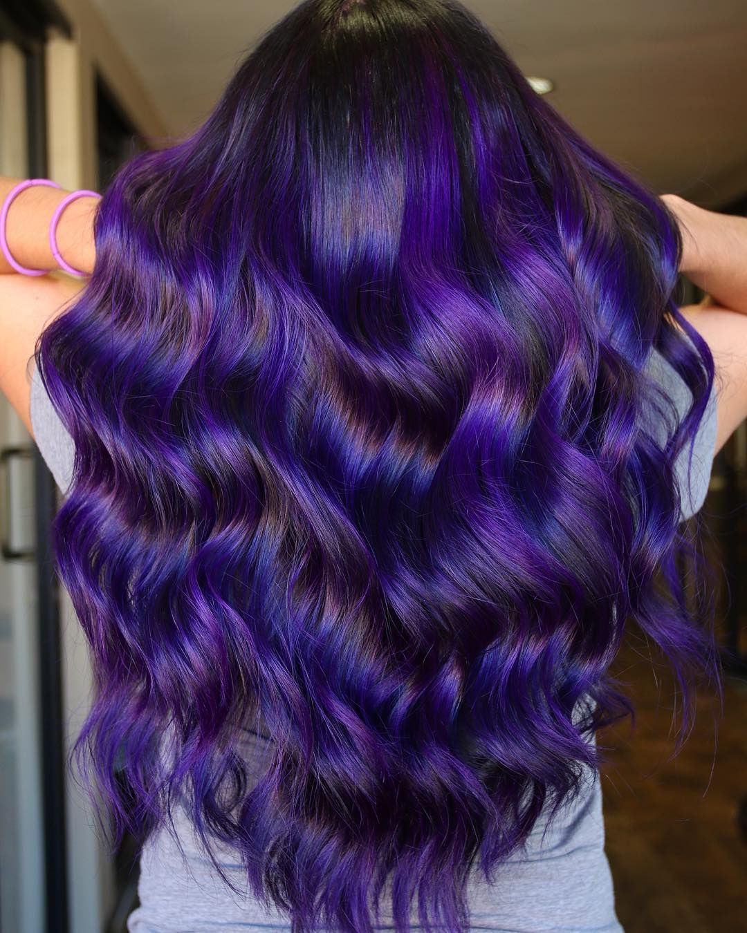 Royal Purple By Matrix Socolorcult Can T Wait Until You Guys Get To See The Rest Of This Amazing Collection Lilac Hair Hair Color Purple Hair Dye Tips