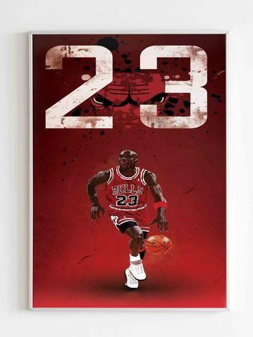 Michael Jordan Legend Poster Art Essay On