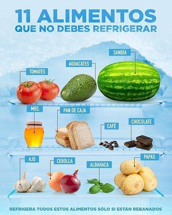 Sacale el mayor provecho a los alimentos, sigue este consejo  -  #saludable #nutrición #fitness #sal...