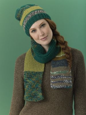 Level 2 - Easy Knit Scarf. Make it with Lion's Pride ...