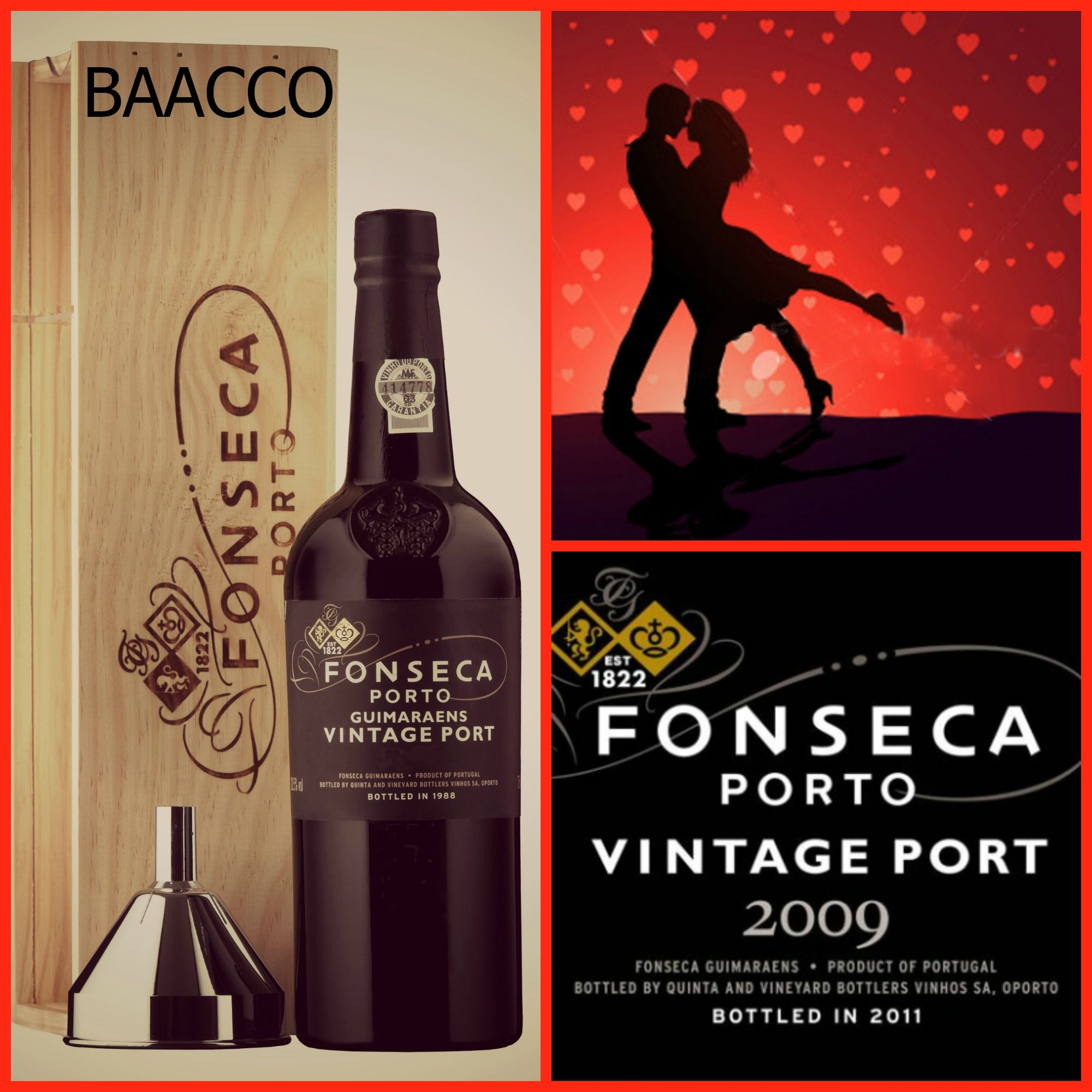 Treat Her This Valentinesday With This Port Fonseca Vintage 2009 And Some Chocolate A Superb Combination Wi Wine Bottle Alcoholic Drinks Bottle