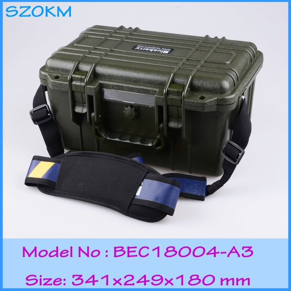 (79.20$)  Know more  - waterproof anti-shock Plastic rescue tools box /case  341X249X180MM