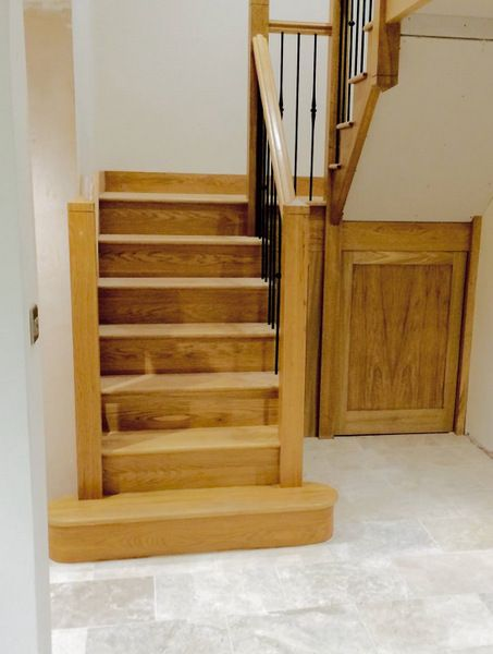 Best Bespoke Oak Staircase Built In Furniture Wooden 400 x 300