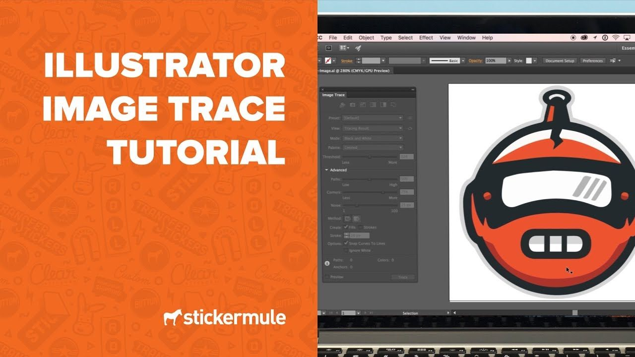 How to use Image Trace in Adobe Illustrator Adobe