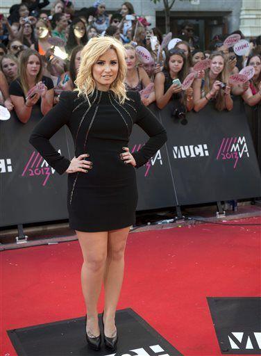 Demi Lovato at The Muchmusic Awards 2013