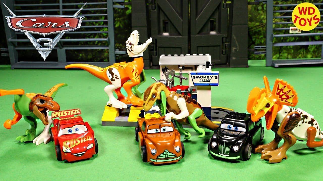 New Lego Pixar Cars 3 Smokey S Garage With Lego Hybrid Mutant