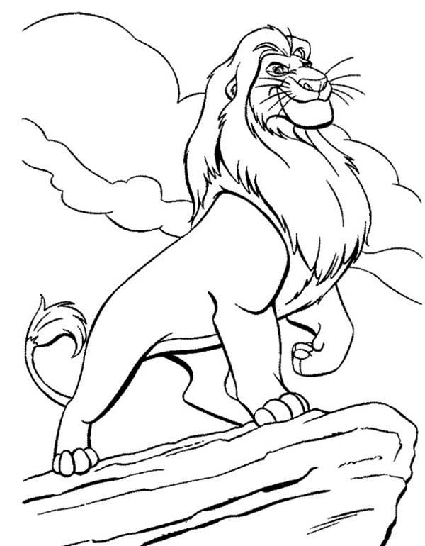 Pin On Simba Coloring Pages