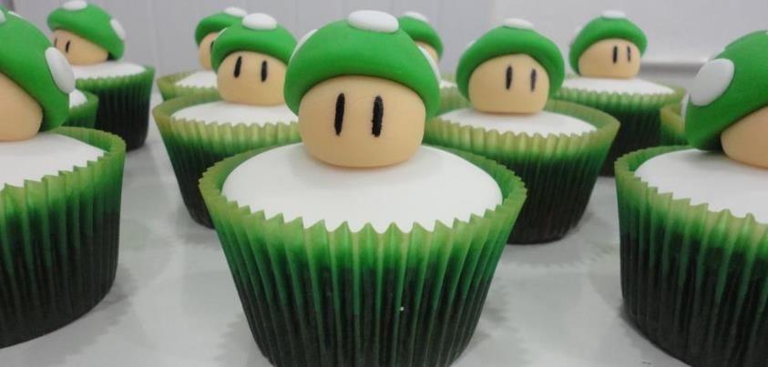 Bom dia! Que tal um cupcake para começar bem o dia?